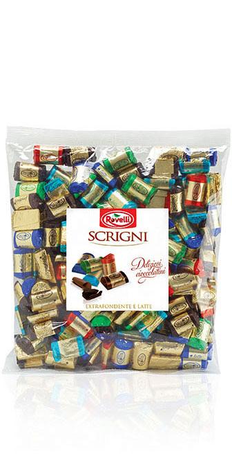 Scrigni - Sacchetto Mix Extra Fondente e Latte da 1000g