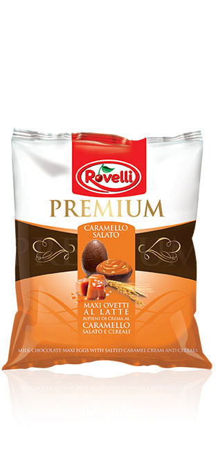 Maxi Ovetti Premium - Busta Maxi Ovetti al Caramello Salato da 115g