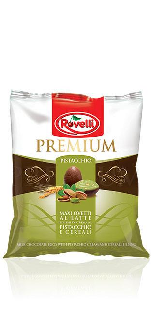 Maxi Ovetti Premium - Busta Maxi Ovetti al Pistacchio da 115g